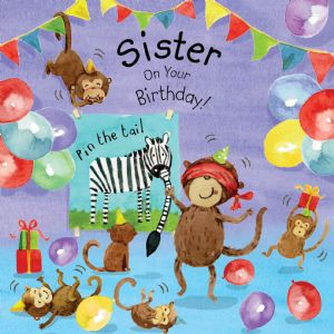 TOT17  Sister Birthday Card